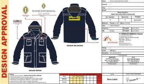 Jaket Outdoor Intercontinental